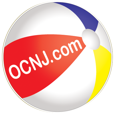 OCNJ.com Beachball Magnet