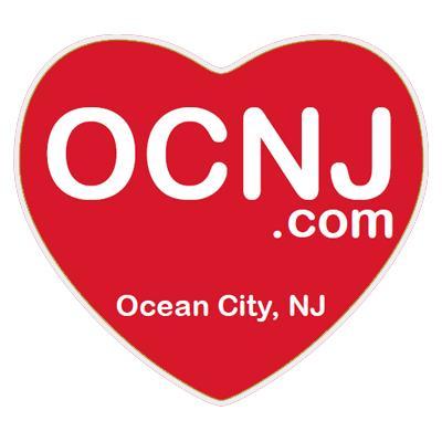 OCNJ.com heart magnet